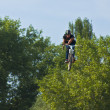 Jump with a bike rider — Stock Photo #12645900