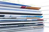 Catalog paper magazine — Stock Photo