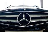 Mercedes logo — Stock Photo