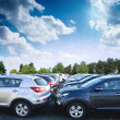 Car new parking — Stock Photo #14013524