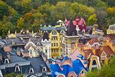 House roof Kiev — Stock Photo
