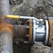 Stock Photo: Pipe   gas pipeline