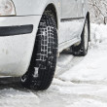 Road snow winter car — Stock Photo #16817423