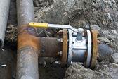 Pipe  gas pipeline — Stock Photo