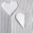 Heart paper — Stock Photo #19496411