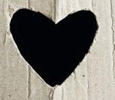 Heart paper — Stock Photo