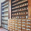 Foto Stock: Old pharmacy