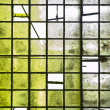 Tiles background in green — Stock Photo