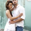 Young sensual couple — Stockfoto