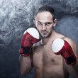 Young Boxer fighter — Stock Photo
