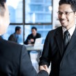 Businessmen shaking hands — Stock Photo #30839943