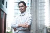 Confident businessman — Stock Photo