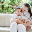 Asian mother with son — Stock Photo #37659095