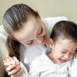 Asian mother with son — Stock Photo #37659127