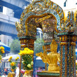 The Erawan Shrine in Bangkok, Thailand - Stok fotoraf