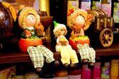 Toy family — Stock Photo