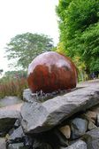 Ball Stone — Stock Photo