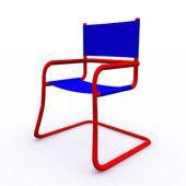 3d 呈现孤立现代椅子 — 图库照片