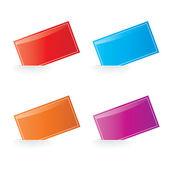 Vecteur couleur étiquette série — Vecteur