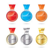Vector High Quality Medal — Stock Vector