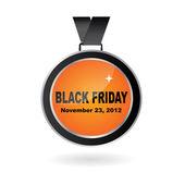 Vector Black Friday advertising element / medal — Vector de stock
