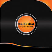 Vector Black Friday brochure design — Stock Vector