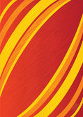 Vector red abstract background / brochure design — Stok Vektör