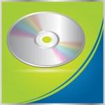 Vector CD - DVD brochure design / cover — Stock Vector