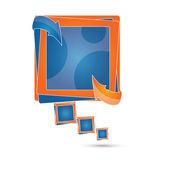Vector advertising text box / speech bubble — Stock Vector