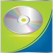 Vector CD - DVD brochure design / cover — Stock Vector