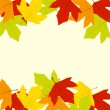 Royalty-Free Stock Vector Image: Autumn Leaves Frame