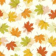 Maple Leaf Seamless Background — ストックベクタ