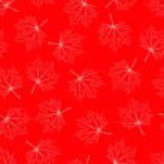 érable rouge fond transparent — Vecteur