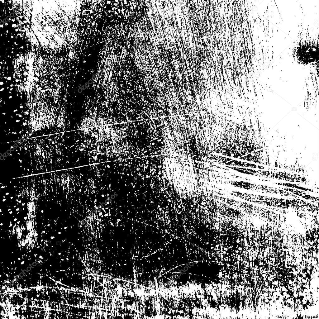 Line Texture Illustrator : Grunge scratched texture — stock vector benjaminlion