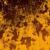 Textura de parede escovado marrom — Vetor de Stock