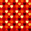 Hearts and Dots — Vector de stock
