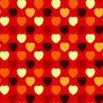 arrière-plan transparente coeur — Vecteur