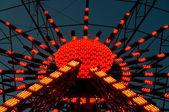 Illuminated Ferris Wheel — Stock Photo