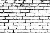 Pared de ladrillo blanco — Vector de stock