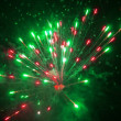 Firework Burst — Stock Photo