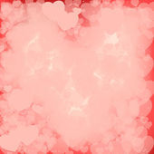 Pink Valentine Background — Vector de stock