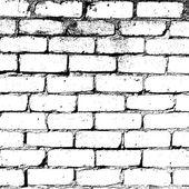 白いレンガの壁のテクスチャ — ストックベクタ