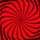 Red Spiral Grunge — Stock vektor
