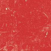 Peinture rouge en détresse — Vecteur