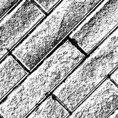 Distressed Brick Background Diagonal — Stock Vector
