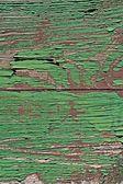 绿色彩绘的木 — 图库照片