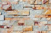 Decoratieve stenen muur — Stockfoto