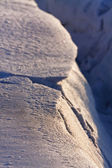 Avalanche snow — Stockfoto