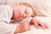 Deep sleeping child boy — Stock Photo