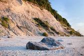 Baltic beach and sea — Stock Photo